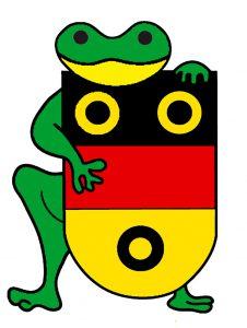 Frosch_mit_Wappen
